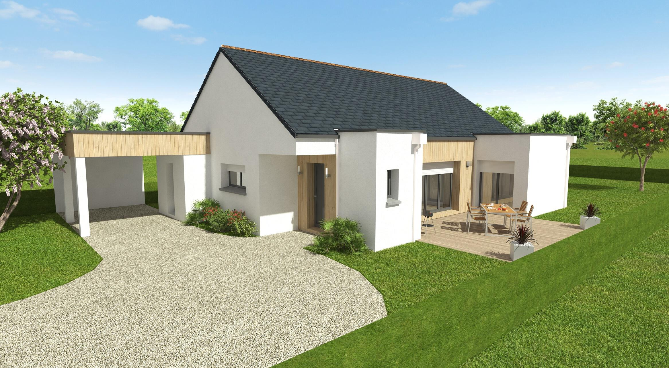 Projet Construction Maison Contemporaine Loire-Atlantique 44 ...